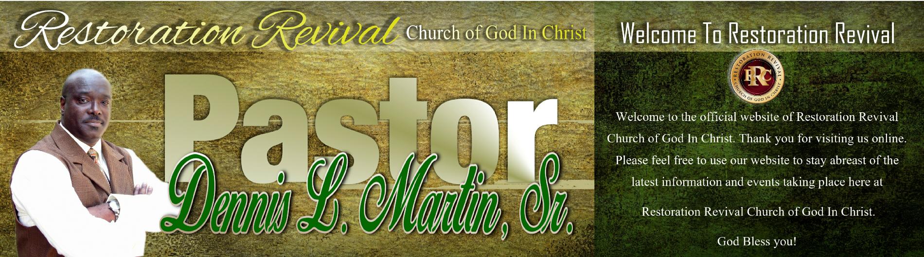 Co-Pastor Martin